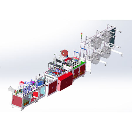 N95 Automatic Mask Making Machine