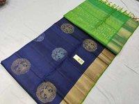 Pure Silk Double Warp Butta Saree