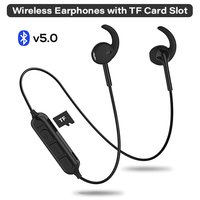 pTron Avento Pro Stereo Wireless Earphones with TF Card Slot & Mic