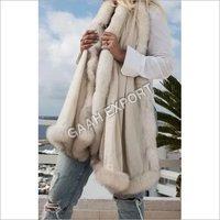 Cashmere Pashmina Faux Fur Stole , SIze-70x200cm