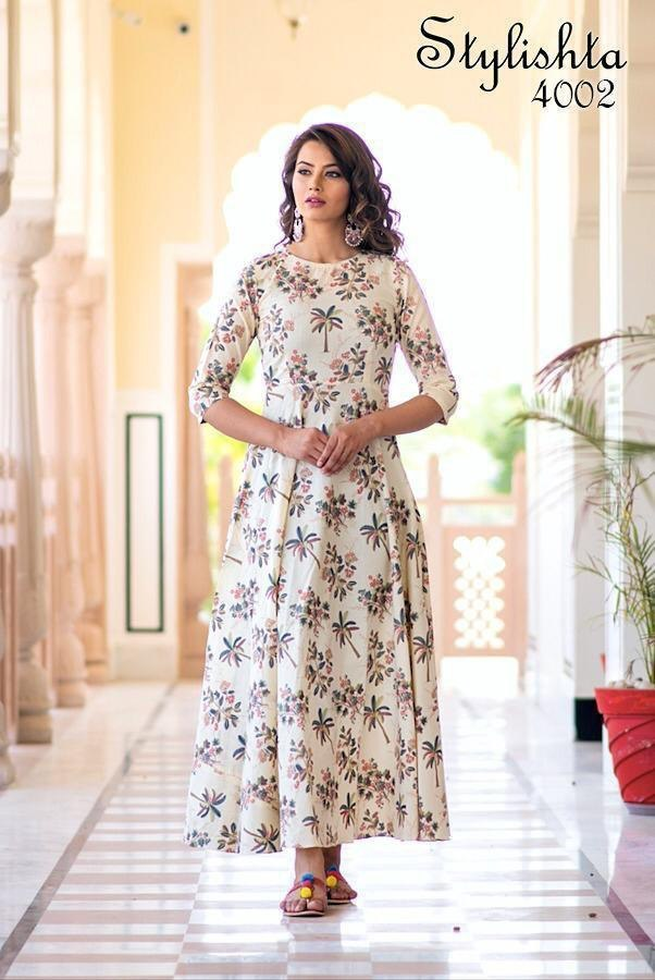 Digital printed Long Kurti