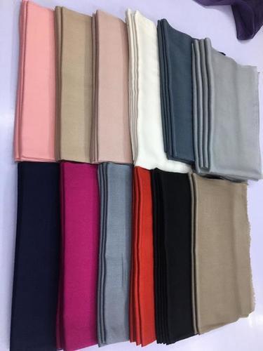 100% Wool Plain Stoles , SIze-70x200cm