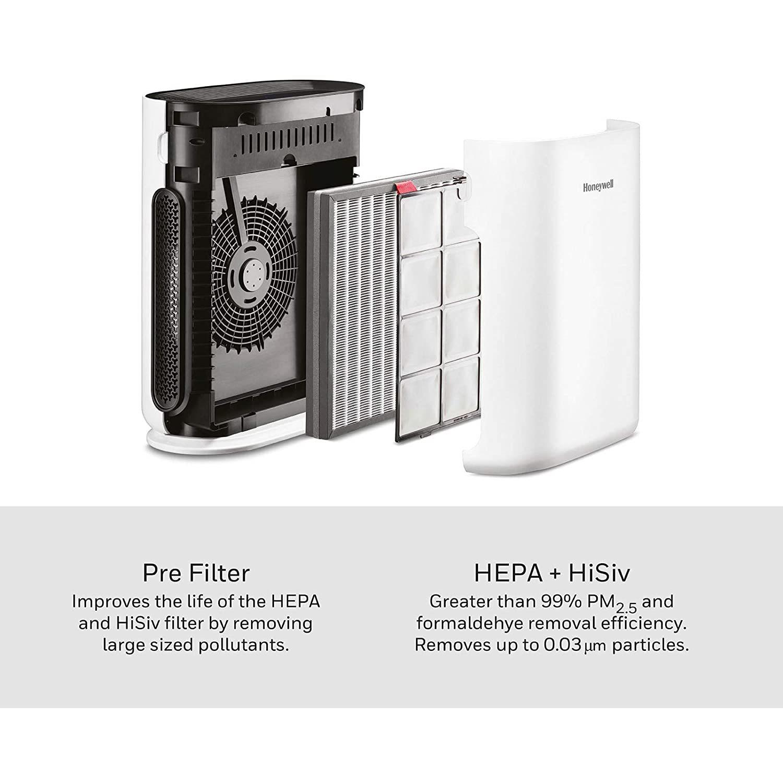 i8 Air Touch White 42 Watt Honeywell Air Purifier