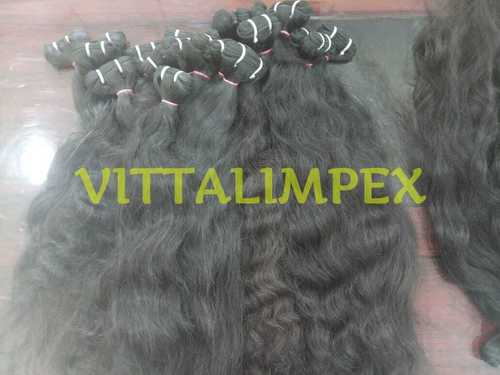 Natural Indian Raw Weft Hair