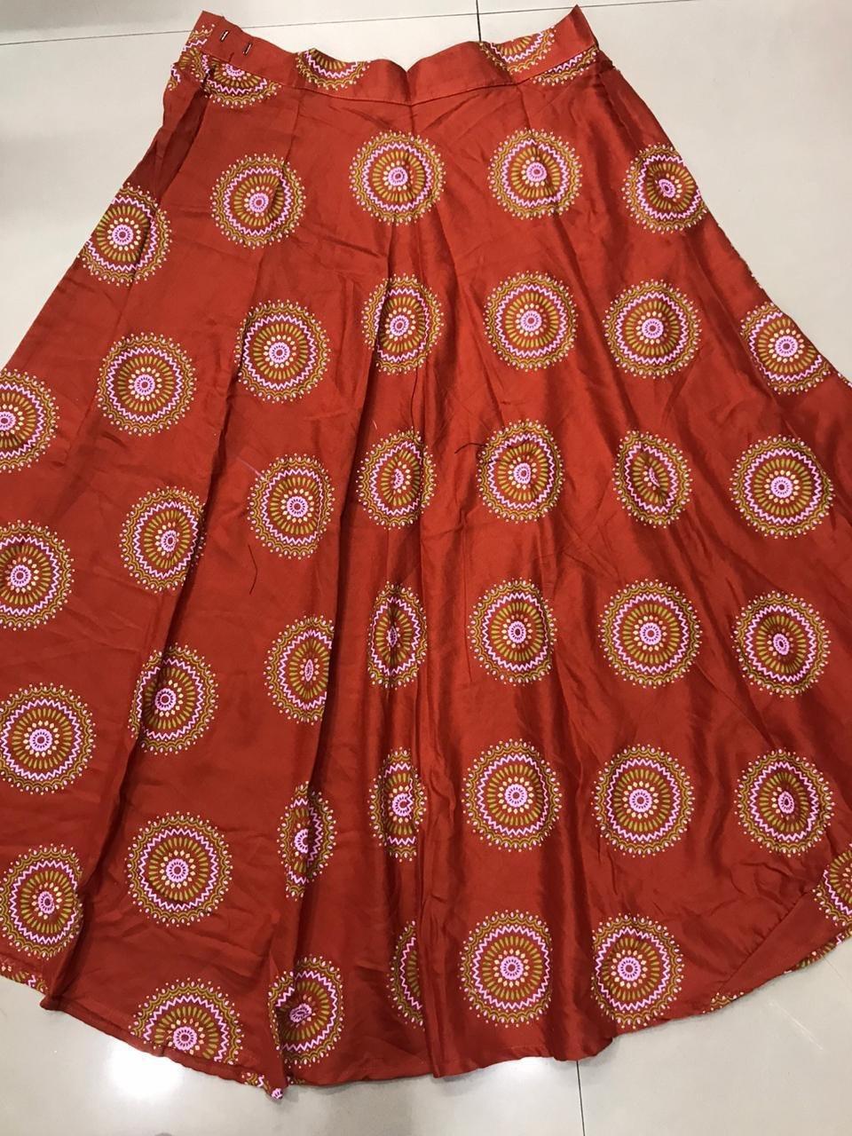 Ladies Ethnic Top with skirt