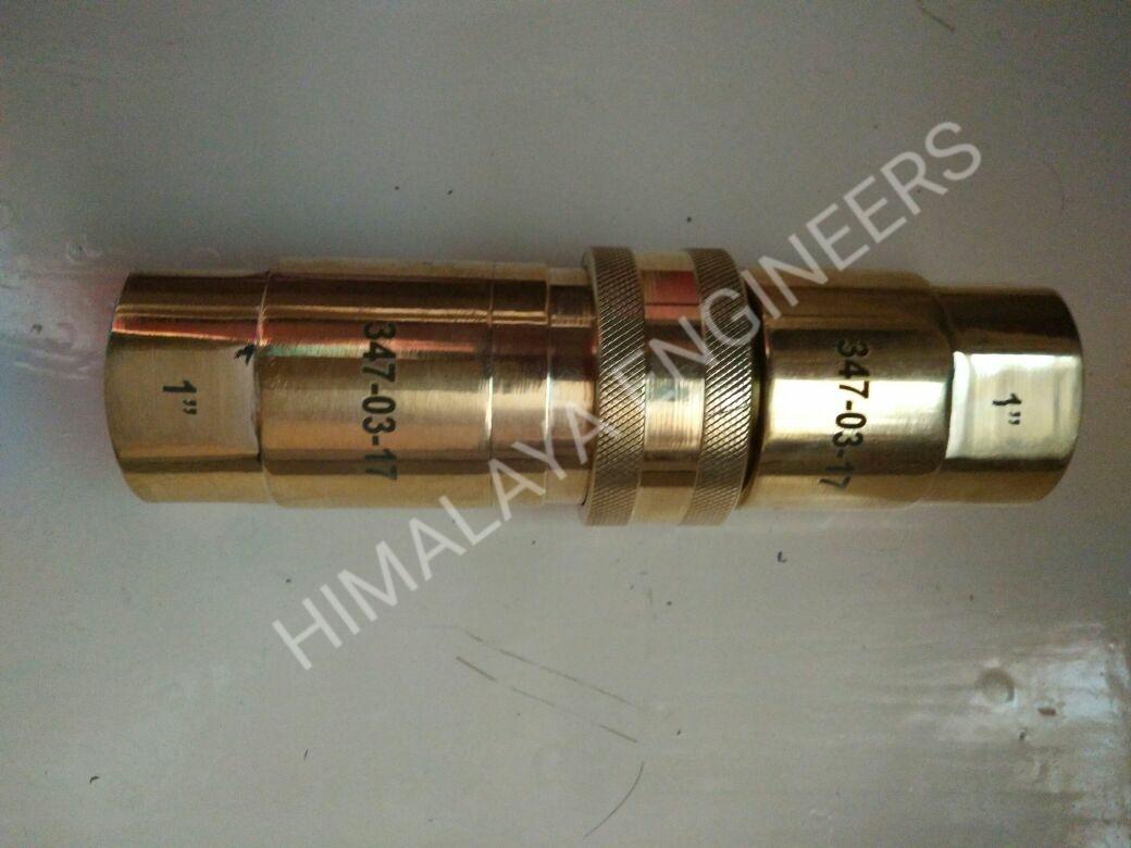 Brass QRC Coupling