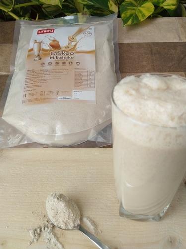 Instant Chikoo Milkshake Premix Powder