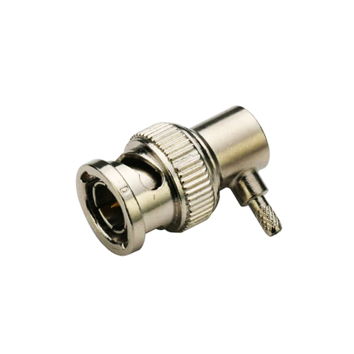 BNC Connector Plug Angled For Cable RG316