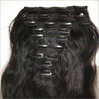 Raw Virgin Clip On Hair