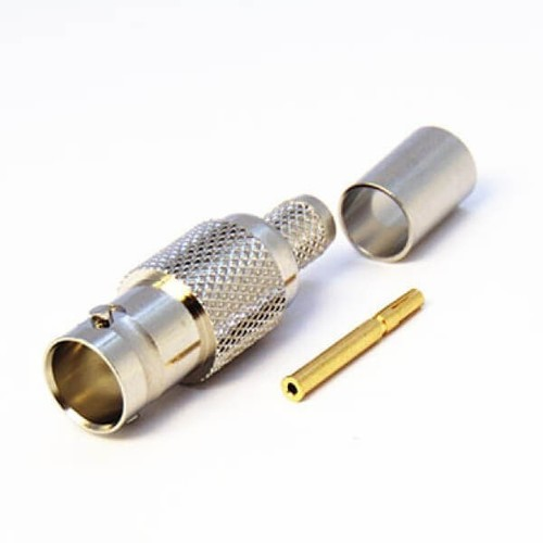 BNC Connector Crimp Female For Cable