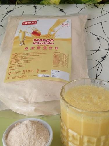 Instant Mango Milkshake Premix Powder