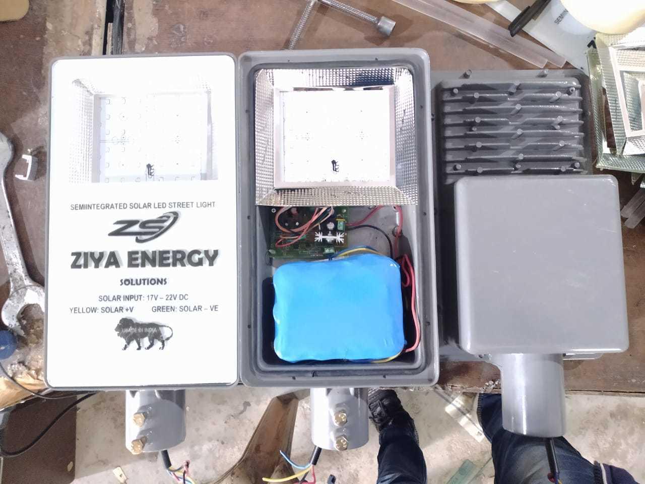 12 Watts Semi Integrated Solar Street Light - LiPo4 Battery