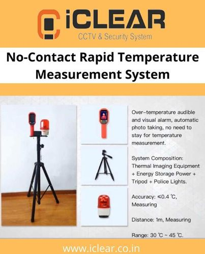 No-Contact Rapid Temperature Measurement System