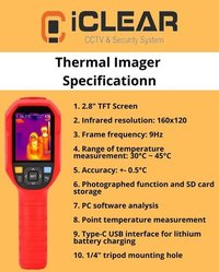 iCLEAR Thermal Imager Camera