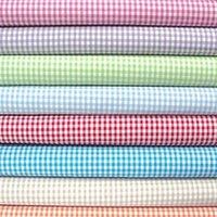 Gingham School Checks Fabric