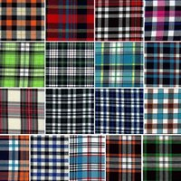 Gingham School Checks Fabric