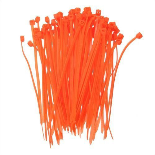 Orange Self Locking Cable Tie
