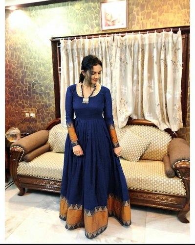 Ladies Blue Long Kurti