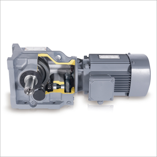 K Series Helical Gear Spiral Bevel Gearbox