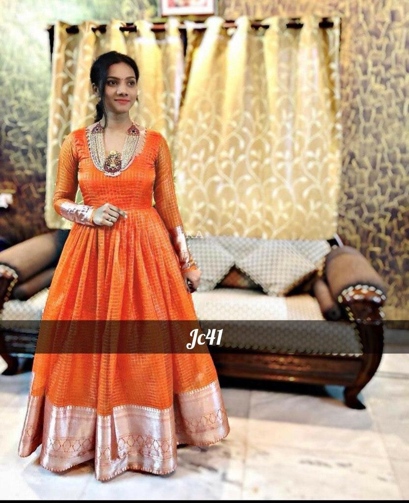 Silk Designer Long Kurti