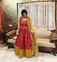 Designer Long Partywear Gown