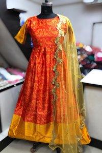 Designer Long Partywear Lehenga