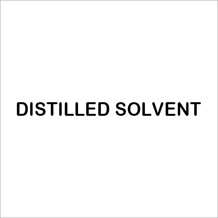 DISTILLED SOLVENT