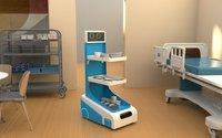 MediDoot Smart Trolley Robot