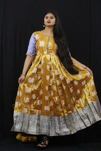 New Designer Anarkali Long Gown