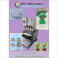 4 Color Toys Pad Printing Machines