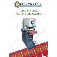 Security Seal Pad Printing Machine