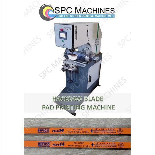 Hacksaw Blade Pad Printing Machine