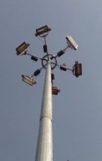 high mast light pole