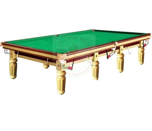 Luxury Golden Billiards Table