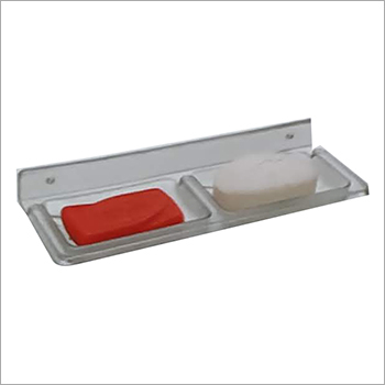 Wall Mounted Double Soap Dish