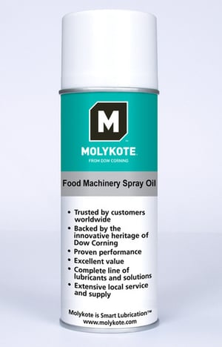 MOLYKOTE Food Machinery Spray Oil