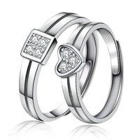 Silver Enamel Rings For Male & Female