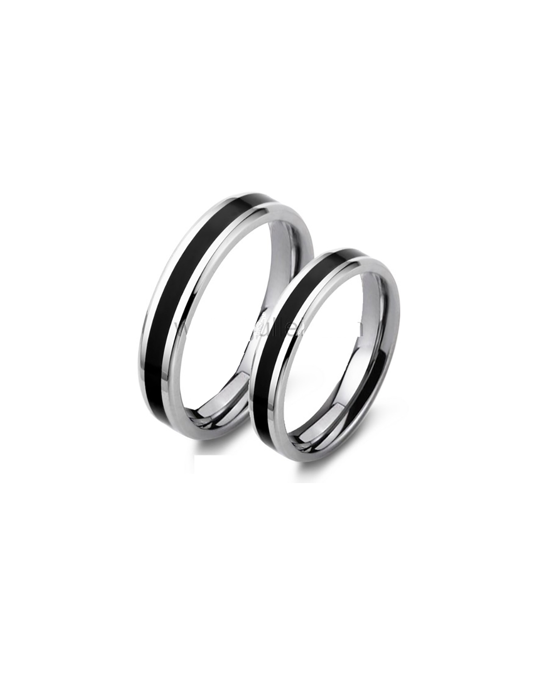 Silver Enamel Rings For Male & Female