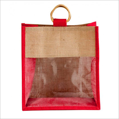 Jute Bag With Window Bag