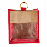 Jute Bag With Window Bag