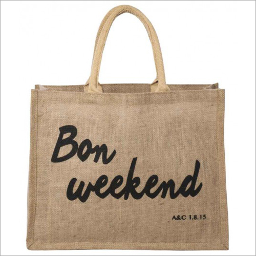 Jute Grocery Promotional Bag