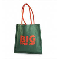 Jute Shopping Printed Bag