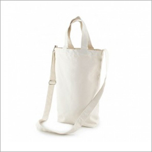 Plain Cotton Sling Bag