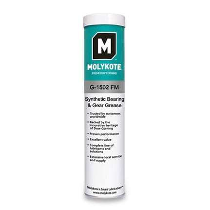 Food Grade Dow MOLYKOTE G-1502 FM Synthetic Bearing and Gear Grease White