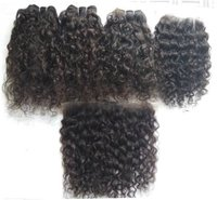 Vintage Natural Curly Cuticles Aligned Hair