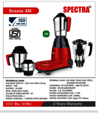 Scania 4M Spectra Mixer Grinder