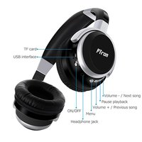 pTron Rodeo Over-the-Ear Bluetooth Headphones with 8 Hours Playback