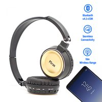 pTron Trips On-the-Ear Stereo Sound Bluetooth Headphones with Mic