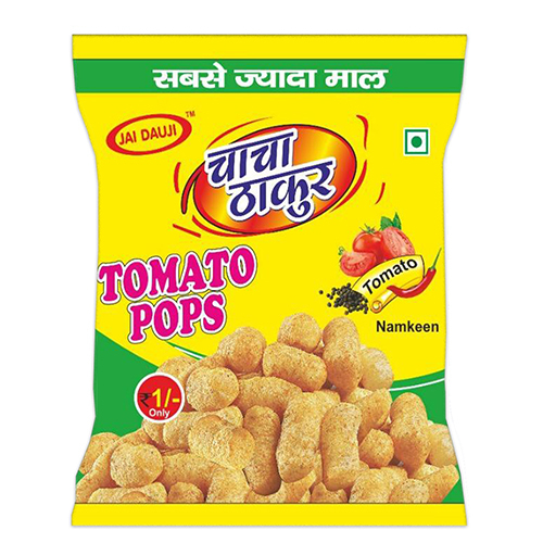 Tomato Crispy Puffs Snacks