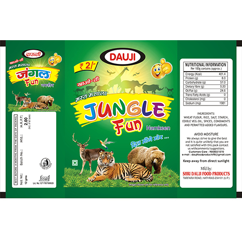 Jungle Fun Namkeen Snacks